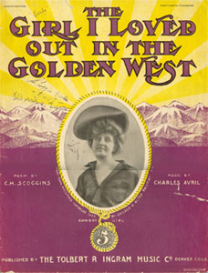 The Girl I Loved Out In The Golden West